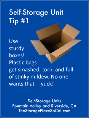 Infographics: Self-Storage Packing Tips from The Storage Place