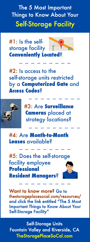 The 5 Most Important Things to Know About Your Self-Storage Facility