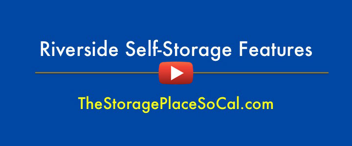 Riverside Self Storage Features - click for video